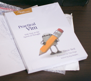 Really, you should get one if you want to learn some Vim. And check vimcasts.org