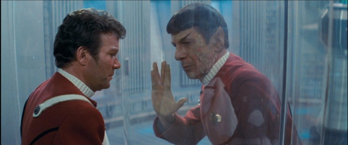 I have been -- and always will be                             -- your friend... Live. Long. And.                             Prosper.