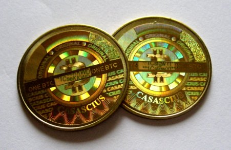 I must say that Casascius coins are gorgeous